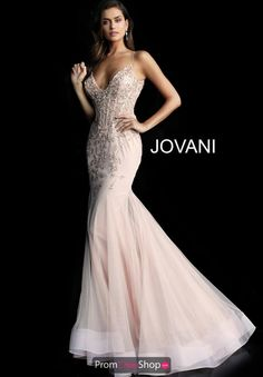 8cc60b99985 Captivate the crowd with this elegant gown by Jovani style 63704 for your  senior prom.