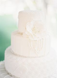 Fabulous with fondant: http://www.stylemepretty.com/2015/09/07/all-white-wedding-details-we-love/