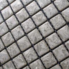 metallic tile backsplash kitchen design colorful crystal glass