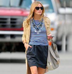 Maxi Colar #maxicolar #maxinecklace #oliviapalermo #looks #look #stealthelook #streetstyle #style #fashion #moda #modaderua #roupas #streetchic