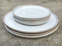 Stoneware plates by jessjos