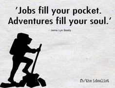 Idealist #jobs #money vs. #adventures #soul