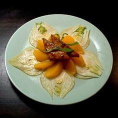 Jaloviinamarinoitu Jalotofu appelsiinin ja fenkolin kera!