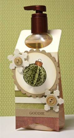 Christmas Soap Tag by DJanuary - Cards and Paper Crafts at Splitcoaststampers