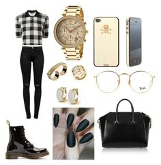 """""""Untitled #294"""" by karla-armstrong on Polyvore featuring Dolce&Gabbana, J Brand, Givenchy, Dr. Martens, Ray-Ban, Michael Kors, Marc by Marc Jacobs and Toast"""