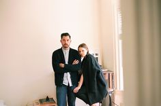 Brian & Amy Kanagaki at home for IN BED Store Journal