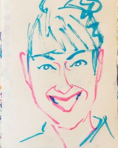 いいね!7件、コメント1件 ― @1mindrawのInstagramアカウント: 「#1mindraw #harunokeiko #春野恵子 #浪曲師 #高田馬場 #19xx0722 #birthday #誕生日 #portrait #筆ペン画」