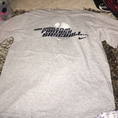 Nike baseball shirt Back shows signs of fading . But still not great condition Nike Tops Tees - Short Sleeve