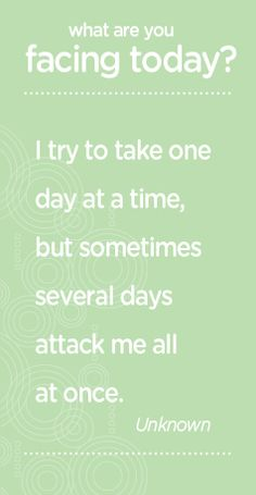 #funny #quotes one day at a time
