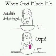God made me into a fangirl Funny Quotes, Funny Memes, Hilarious, Funny Cartoons, Hush Hush, Marinette E Adrien, God Made Me, Fangirl Problems, When Things Go Wrong