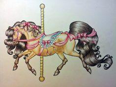 .:Carousel Horse:. by ~PeaBlueJr on deviantART