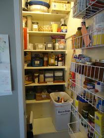 Organizing Made Fun: How I organize my kitchen: The pantry
