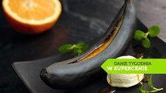 Grillowane banany z sosem i lodami waniliowymi #lidl #przepis #banan #lody