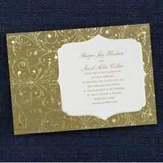 Looking for a more contemporary wedding invitation?  Check this out! Available at www.neverendingstories.carlsoncraft.com!