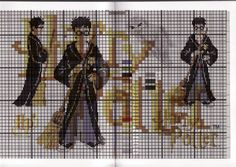 Harry Potter Cross Stitch, probably should think about doing this for my daughter
