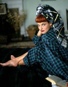A Shot Of Scotch - Vogue US, Linda Evangelista by Arthur Elgort Linda Evangelista, Fashion News, Fashion Models, Fashion Trends, Vintage Outfits, Vintage Fashion, Vintage Clothing, Women's Clothing, Arthur Elgort