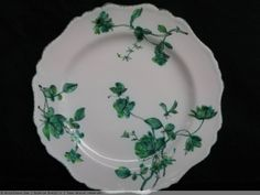 Assiette florale en faïence de MARSEILLE - XVIIIème siècle