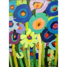 Blue Poppies - ANNA BLATMAN GALLERY