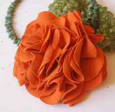 Orange Flower by Marang Studios, via Flickr