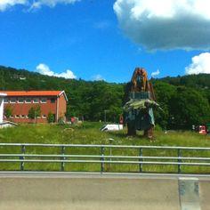 Statue in Jönköping, Sweden