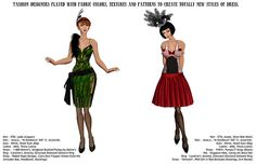 Vain Inc. Magazine - Roaring 20s-Pg9&10 by Ketsy Forager, via Flickr