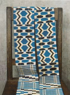 Lovely color combinations in these African patterns.