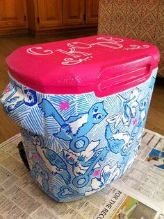 KKG Lilly Print cooler