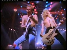 "DEF LEPPARD - ""Pour Some Sugar On Me"" (Official Music Video)"