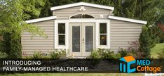 An interesting idea for long-term care housing - these cottages are prefabricated buildings which provide round-the-clock monitoring in a freestanding unit dependent on a caregiver's house. Adult children of aging parents can create space on their property to care for their parents at home.