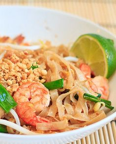 Low FODMAP Recipe and Gluten Free Recipe - Pad Thai Noodles