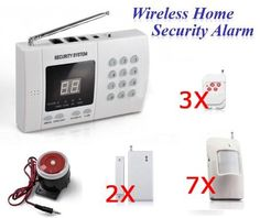 ledlight360 Wireless Home Security Alarm System Kit Burglar Alarm Auto Dial SD2 by Ledlight360. $76.99. Item feature and function:    Keep your private area away from danger!!   (1) Do you want to know the situation of your home or company anywhere / anytime. This item can help you! If there is any stranger breaks into its defense area. The system will call you or call 911 automatically; at the same time, its siren will alarm loudly to scare the intruder. And when your ne...