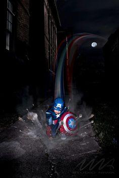Superhero Photoshoot