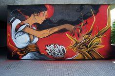 30+ New Amazing Street Art Paintings of 2013