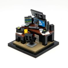 I've been told by a million people in r/Lego to show you my LEGO hacker workstation ;)