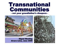 Transnational Communities - Digaai Meeting - by Digaai.com via Slideshare