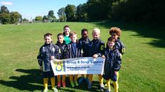Lovely to see Epsom Athletic Falcons Youth Football Club - Under 10 Blues proudly supporting Group B Strep Support with their new banner.  Would you ask your local team to support us?