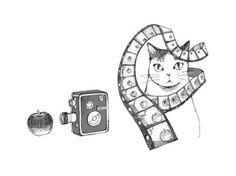 「ひらめきの物理学」扉絵 付録 by Tomoko Inaba 稲葉朋子   http://tomokoinaba.com/
