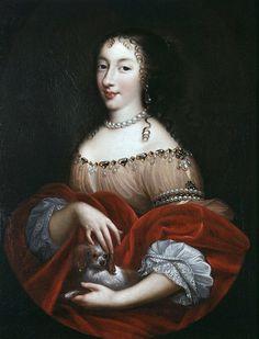 Henriette d'Angleterre première épouse du Duc d'Orléans