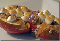 caramel apples #desert #recipe #notfatfree