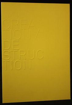 Gaufrage couverture de plaquette Home Decor, Booklet, Impressionism, Decoration Home, Room Decor, Interior Design, Home Interiors, Interior Decorating