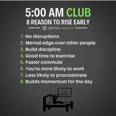 Challenge someone to join you! Who will you invite to the AM club? Study Motivation Quotes, Business Motivation, Business Quotes, Monday Motivation, Motivation Inspiration, Wisdom Quotes, Life Quotes, Wealth Quotes, 5am Club