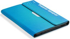 """The 2014 """"Trapper Keeper"""" comes in two sizes: a large version will hold tablets up to 10 inches and runs  $29.99. A smaller case holds devices 8 inches and smaller and can be yours for $24.99. Both will ship in September."""
