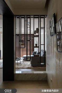 home design tips Interior Walls, Modern Interior, Interior Architecture, Interior And Exterior, Screen Design, Wall Design, House Design, Shelving Design, Partition Design