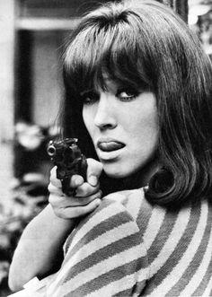 Anna Karina in Made in USA, 1966.