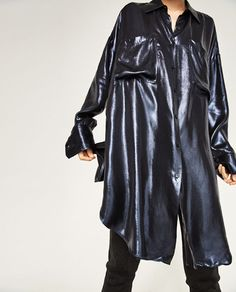 Image 2 of OVERSIZED SHIRT from Zara