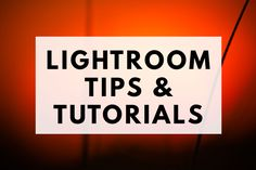 Learn how to create beautiful images in Lightroom with these tips and tutorials.