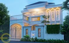 Yanti Private House - Jakarta- Quality house design of architectural services, experienced professional Bali Villa Tropical designs from Emporio Architect. Classic House Design, Dream Home Design, Modern House Design, My Dream Home, Modern Pool House, Modern Pools, Townhouse Designs, Bungalow House Design, Contemporary House Plans