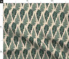 Botanical herbal pattern. Forest bush plant, tropical fern grass herb leaves seamless background. botanical, plant, bush, fern, nature, green, abstract, quilt, branch, leaf, leaves, decoration, texture, fern, design, garden, pine, grass, autumn, foliage, frond, exotic, carpet, fabric, textile, zen, bush, pine Bush Plant, Seamless Background, Walking In Nature, Fern, Spoonflower, New Zealand, Pine, Herbalism, Grass