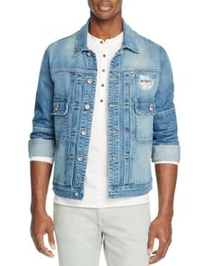 Joe's Jeans King Cobra Vintage Denim Trucker Jacket
