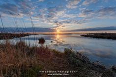 Wil de Boer Photography --> Dutch Landscape and Ci posted a photo:  Sunset at Lake Leekstermeer